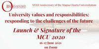 32 MCO Anniversary and launch of MCU2020