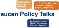 eucen policy talks 2018