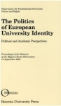 Politics of European University Identity