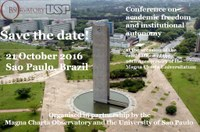 Save the date Brazil 2016